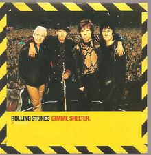 "Rolling STONES ""GIMME SHELTER"" 1 Track Promo CD CARDSLEEVE"