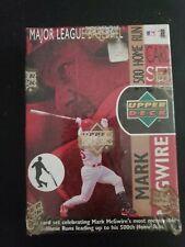 1999 Upper Deck MLB Mark McGuire 500 Home Run 30-Card Set