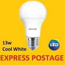 36 X Philips LED Frosted GLS E27 Edison Screw 100w Cool White Light Bulbs 1521lm