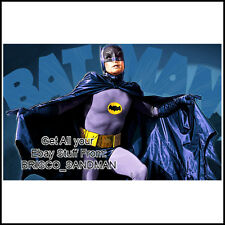 "Fridge Fun Refrigerator Magnet BATMAN 1960s TV ""Illustration A"" Adam West"