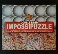 Impossipuzzle Golf Balls Tees Double Sided 550 Piece Jigsaw Puzzle Age 12+ NEW