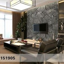 Grey Marble Mosaic Stone Slate Rock Look 10M 3D Marble Theme Project Wallpaper