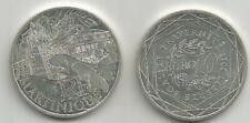 10 Euros région MARTINIQUE  2011