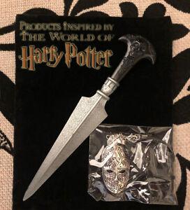 Bellatrix Lestrange Skull Dagger & Mask Necklace, Wizarding Trunk, Harry Potter