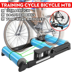 AU Silent Roller Trainer Road Bike Training Bicycle MTB Exercise Platform Indoo