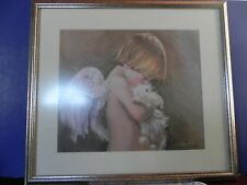 "Nancy Noel Print ""Jacob"" Professionally Matted and Framed Authenticity Seal"