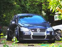 Volkswagen Golf mk5 Fender flares CONCAVE wide body wheel arches 90mm 4pcs set