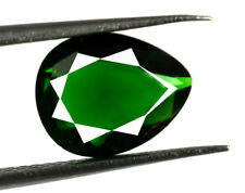 Green Garnet 1.90 Carat Loose Gemstone Natural Pear Cut African AGSL Certified