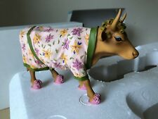 "Cow Parade Cow with Robe ""Early Show�"