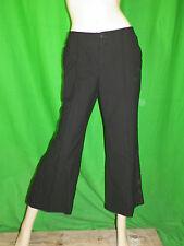 IKKS Taille 38 USA 6 Superbe pantalon doublé gris rayures verticales en laine