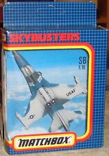 MATCHBOX - SKYBUSTERS - US AIR FORCE F-16 FIGHTER JET - SB-24 - MINT & BOXED