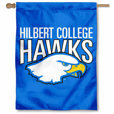 Hilbert College Hawks Two Sided House Flag