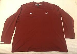 Nike NWT Men's Alabama Crimson Tide On Field Pullover Fleece Size 3XL CQ5032-698