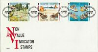 JERSEY NON VALUE INDICATOR STAMPS,  1993 COVER  REF 1340