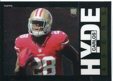 Chrome Football 2014 1985 Set #19 CARLOS Hyde-San Francisco 49ers