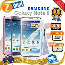 (NEW SEALED BOX) SAMSUNG GALAXY NOTE 2 II N7105 4G LTE 16GB UNLOCKED + OZ WTY