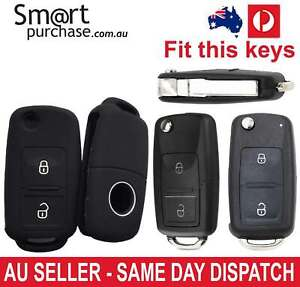 Silicone Flip car Remote Key Full Cover Case Shell For VW Volkswagen Golf MK7 y