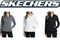 Sketchers Go Walk Women's Snuggle Fleece Mock Zip Jacket SIZE & COLOR VARIETY