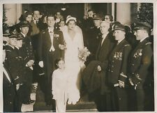 GRÈCE c. 1930 - Mariage Paul-Louis Weiller - Alíki Diplarákou - PRM 219
