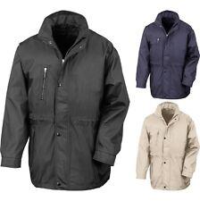 Mens Result City Executive Professional Smart Warm Fleece Lined Jacket Coat Top