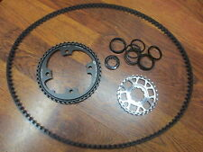 GATES CARBON DRIVE CDX 104 BCD 46T SINGLE SPEED 132MM  BELT DRIVE 28T COG SET