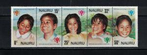 Australia: Nauru 1979: Intrernat. Year Child Strip 5 NH:Lot#5/2