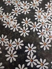 100 PAPER DAISY FLOWER CARD MAKING, # 22,CRAFT EMBELLISHMENTS, joba lot,Confetti