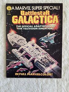 Marvel Super Special Magazine #8 from 1978 Battlestar Galactica NICE