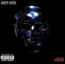 Marilyn Manson : Mobscene & Paranoiac Promo CD FREE USA SHIPPING!!!