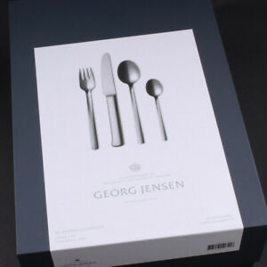 Georg Jensen, Bonfils Cutlery Set. Stainless Steel. Bo Bonfils.16 pcs. 3335516