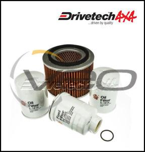 NISSAN PATROL Y61 GU 4.2L TD42T 5/02-9/07 DRIVETECH 4X4 SERVICE FILTER KIT