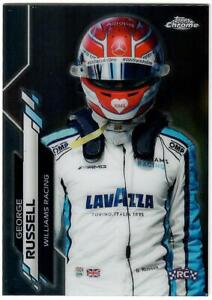 2020 Topps Chrome George Russell F1 Formula One Rookie Card #192 Williams Racing
