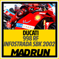 Kit Adesivi Ducati 998 Infostrada SBK 2002 - High Quality Decals