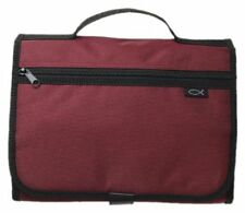 Tri Fold Organizer Cranberry Large Bible & Book Cover by Zondervan Brand New
