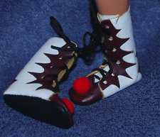 """Clown Boots for 1/6 scale 12"""" action figure man. Pennywise IT.Shoes Stephen King"""