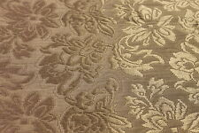 Green Floral Woven Jacquard Fabric 1 Yard 60 Inches Wide