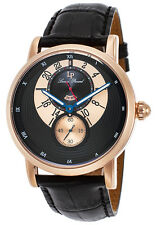 Lucien Piccard Santorini Dual Time Mens Watch 40043-RG-01