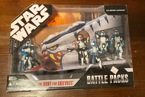 Hasbro Star Wars Clone Wars Hunt For Grievous Battle Packs New In Package