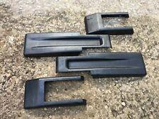 JK Wrangler Tailgate Hinge Covers Black (Set)