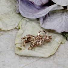 14kt Rose Gold Alpaca Charm for her