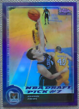 Chris Mihm 2001 Topps Chrome Refractor RC #199 Cavaliers
