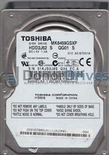 MK6459GSXP, A0/GT001H, HDD2J52 S QG01 S, Toshiba 640GB SATA 2.5 Hard Drive