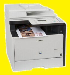 Canon imageCLASS MF8380Cdw Printer w/ NEW Toners / Drums! -- REFURBISHED !!!