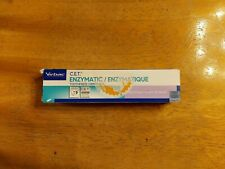 C.E.T. Enzymatic Toothpaste for Dogs and Cats, Beef, 2.5 oz: Exp. June, 2023