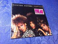 POINTER SISTERS (VINYL LP) CONTACT [US 1985 RCA ALBUM **MINT UNPLAYED **SEALED]