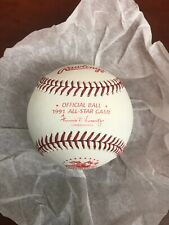 Official MLB 1991 All-Star Game Rawlings Baseball