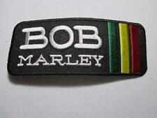 Bob Marley Patch NOS, Vintage, Original, Embroidered,  4 X 1/2 INCHES