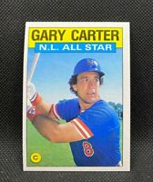 1986 Topps N.L. ALL-Star Gary Carter #708 - New York Mets - HOF - NM-MT