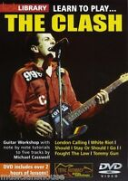 LICK LIBRARY Learn To Play THE CLASH I Fought the Law Tutor GUITAR Lesson DVD