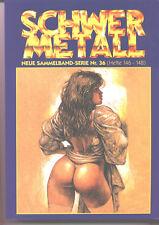 6 Schwermetall Sammelbände 35-40 (direkt vom Verlag)